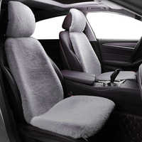 Autoyouth novo inverno capa de assento do carro almofada de assento de carro almofada de pelúcia quadrado espessamento universal de lã de pelúcia protetor de assento de carro