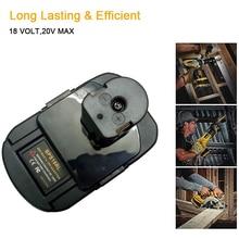 BPS18RL Battery Adapter for /Stanley/Porter Cable 20V Lithium Battery Used Convert for Ryobi 18V P108