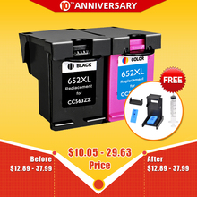 CMYK SUPPLIES 652XL ink cartridge replacement for hp652 HP 652 XL for HP Deskjet 1115 1118 2135 2136 2138 3635 3636 3835 4535 цена 2017