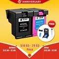 Cmyk поставляет 652XL чернильный картридж Замена для hp652 HP 652 XL для HP Deskjet 1115 1118 2135 2136 2138 3635 3636 3835 4535