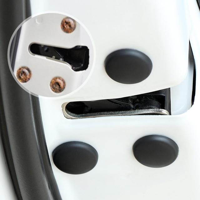 Couvercle de protection de vis de serrure de porte de voiture de 12 pièces pour Mercedes W203 W204 W205 W211 Benz Cadillac ATS SRX CTS pour Lexus RX RX300 Porsch