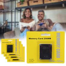 Novo mini micro cartão sd 8 16 32 64 128 256 gb cartão de memória para sony playstation 2 ps2 marca para smartphone adaptador fábrica selado
