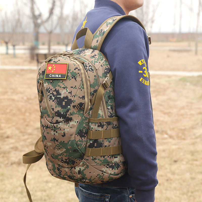 2016 New Style Hot Sales 20L Army Fans Tactical Outdoor Backpack Mini Riding Outdoor Bag