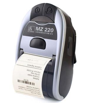 100٪ جديد الأصلي ل zebra MZ220 اللاسلكية بلوتوث طابعة حرارية ل 50 ملليمتر تذكرة أو تسمية طابعة محمولة 203 نقطة في البوصة