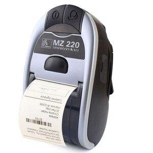 Image 2 - Impresora térmica móvil con Bluetooth para Zebra MZ220, 100% Original, inalámbrica, de 48mm para tickets o etiquetas, 203 dpi