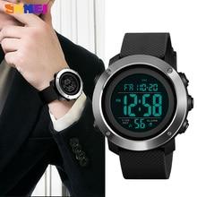 SKMEI Luxury Sports Mens Watch Fashion Casual Waterproof Wristwatches LED Digital Military Chrono Clock Male Relogio Masculino
