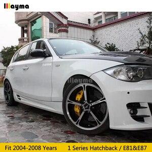 Image 5 - Carbon Fiber Mirror cover For BMW 1 Series Hatchback 116i 120i 130i 135i 2004 2008 year E81 E87 Car rear mirror cap stick on