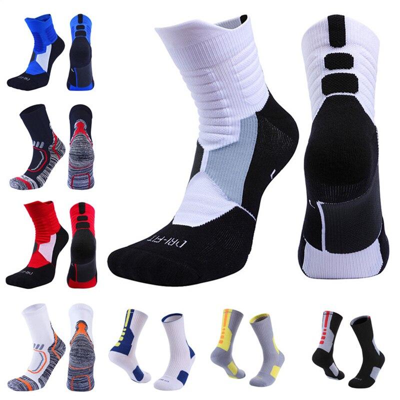 USHINE professional outdoor Sport cycling socks basketball football soccer running trekking socks men women