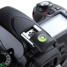 2 sztuk aparat DSLR Flash Hot ochraniacz na buty pokrywa poziomica do aparatu Nikon Canon SX60 SX70 1300D 800D 850D 90D 7D II D7200 D5600