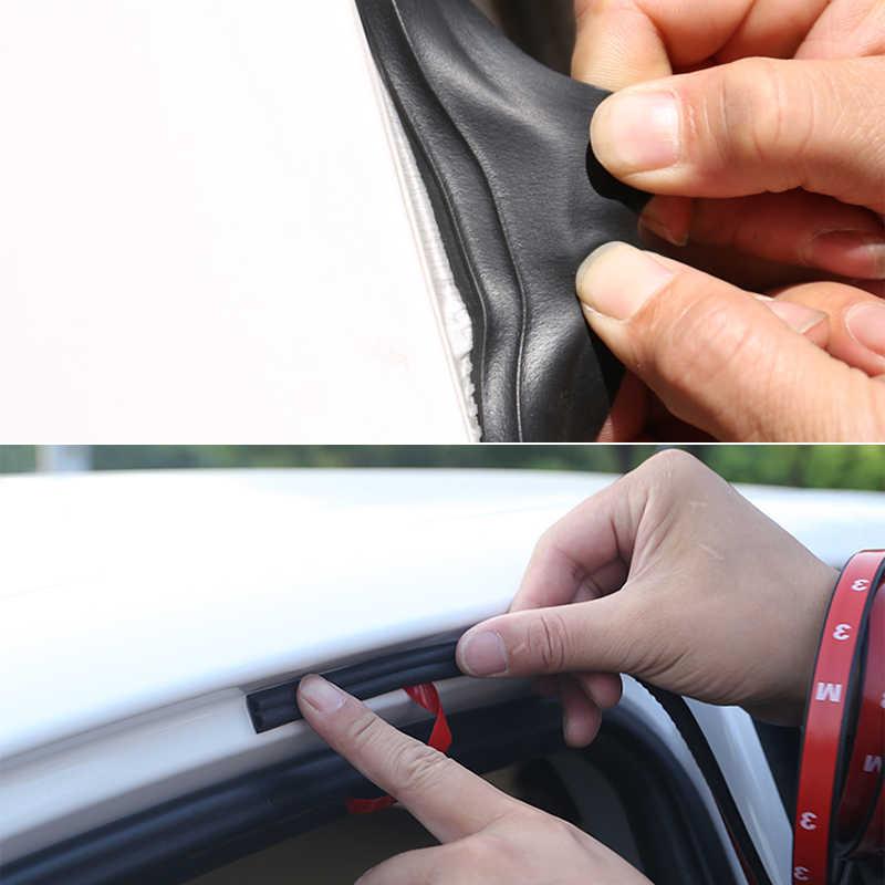 Voiture style 1 mètre caoutchouc voiture porte joint bandes autocollant coffre insonorisation étanche étanchéité autocollant voiture universel accessoires