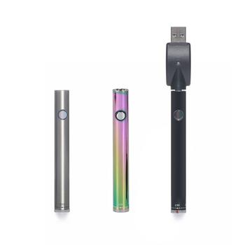Greenlightvapes G9 nagrzewanie baterii Trist G10 dolne napięcie regulowane 510 gwint 350mah ładowarka USB do wkładów CBD Wax Cart tanie i dobre opinie NONE CN (pochodzenie) Elektryczny mod cbd oil cartridges wax atomizer low wattage Metal 700 mAh G10 Trist battery