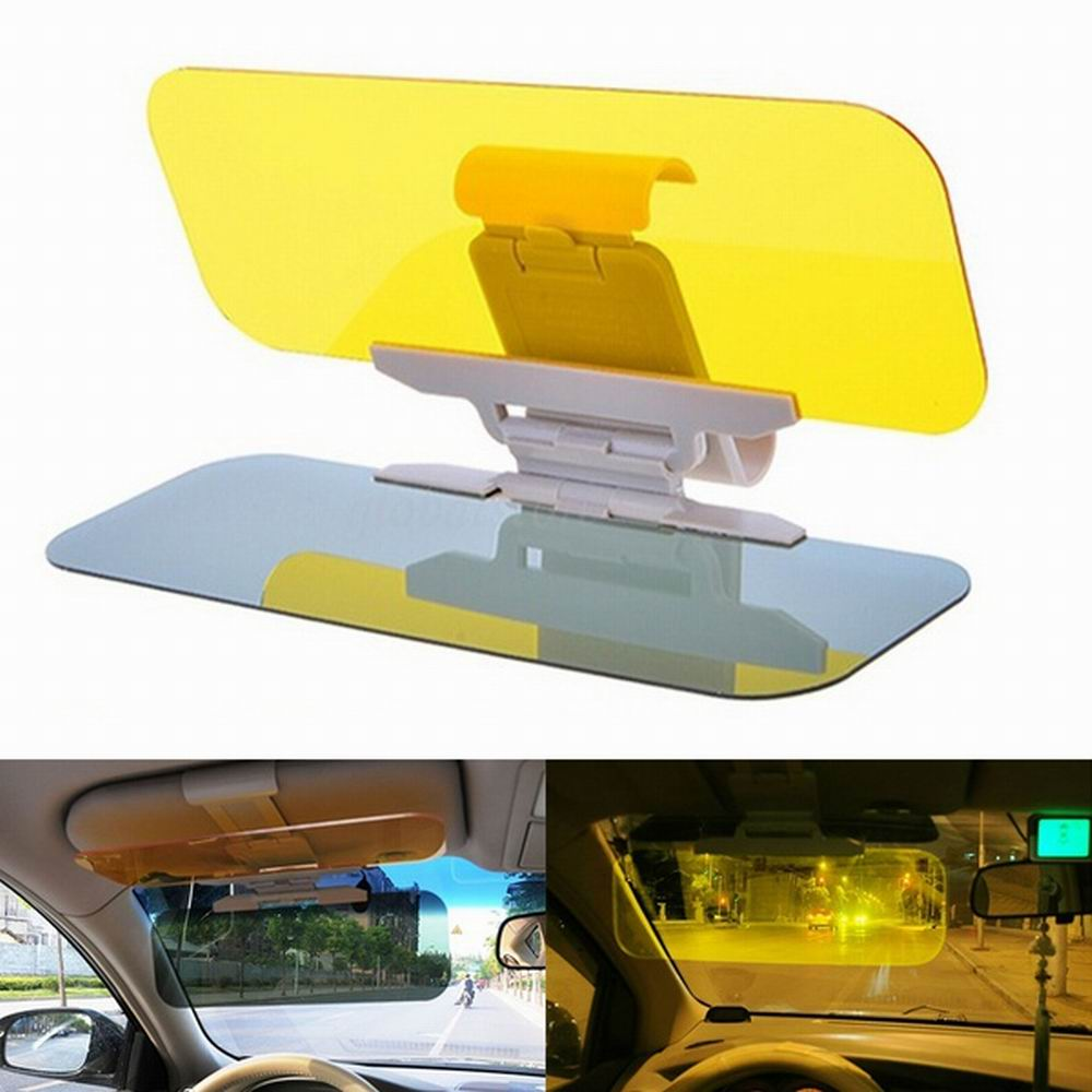 Night Vision Driving Mirror Sun Visors Car Anti-Glare /& Dazzling Goggle Day