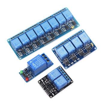цена на 5V relay 1 2 4 8-channel relay module relay output 1 2 4 8-channel relay module