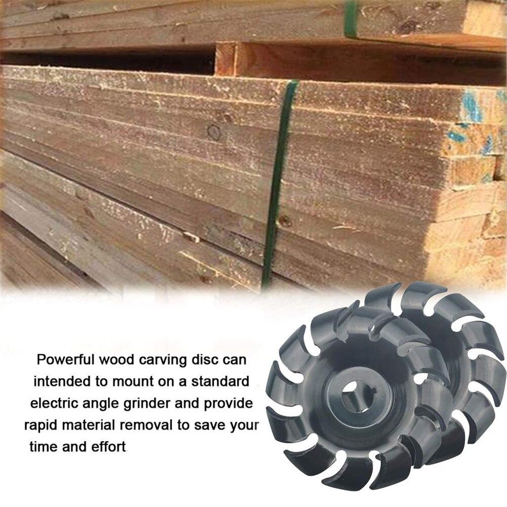 Многофункциональный 12 зубцов высокой твердости резьба по дереву диск угловая шлифовальная машина Деревообрабатывающие инструменты для