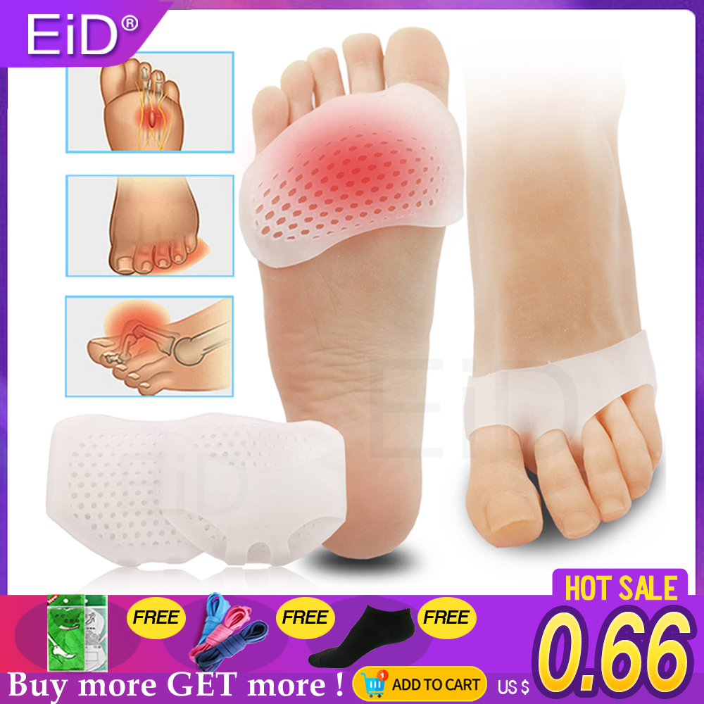 Silicone Gel Honeycomb Forefoot Pads For Women High Heels Half Yard Insole Front Foot Blister Pain Relief Wholesale Toes Inserts