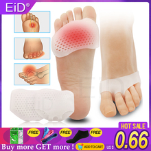 Forefoot-Pads Pain-Relief High-Heels Insole Toes-Inserts Silicone Wholesale Women Gel