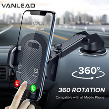 Windshield Gravity Sucker 360 Car Phone Holder For Universal Support Mobile Cell Cellphone Smartphone For IPhone X Max Xiaomi(China)