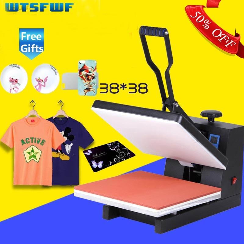 Envío gratuito, Wtsfwf, 38x38CM, máquina impresora de prensa térmica de alta presión, impresora de transferencia térmica 2D para camisetas, fundas, Impresión de almohadillas Einkshop 1pc para hermano J430 cabezal de impresión para Hermano, 5910, 6710, 6510, 6910 MFC-J430 MFC-J725 MFC-J625DW MFC-J625DW cabeza de impresión
