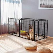 Pet Fence Dog Gate For Indoor And Outdoor Safe Puppy Kennel House Exercise Training Kitten Space Dogs Supplies Rabbits Pig Cage