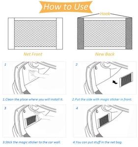 Image 4 - Auto Stamm gepäck Net Für Mercedes Benz W203 W210 W211 AMG W204 W220 W205 B C E GLK ML GL klasse A260 E300 C200 Auto Zubehör