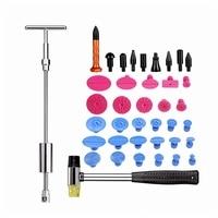 Paintless Dent Repair Tool Dent Puller Label Rubber Hammer Faucet Pen Tool Kit Hand Tool For Car Dent Repair