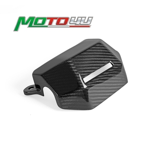 100% Carbon Fiber Water Cooler Cover Radiator Water Coolant Case Cover Fairing Cowling For YAMAHA MT07 MT-07 2018 2019 2020