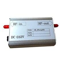 Amplificador de frecuencia RF de 8KHz-3GHz, banda de frecuencia MC EMI RF de bajo nivel de ruido, amplificador de Radio frecuencia de entrada de 30dB, RFamp001, herramientas prácticas