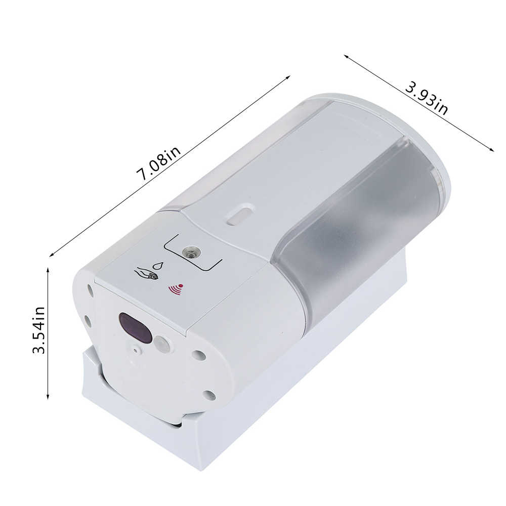 450 мл Настенный Автоматический Инфракрасный дозатор для мыла, индукционный умный дозатор жидкого мыла для кухни и ванной комнаты
