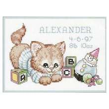 Игрушки и коты животные узоры счетный крест 11ct 14ct 18ct сделай