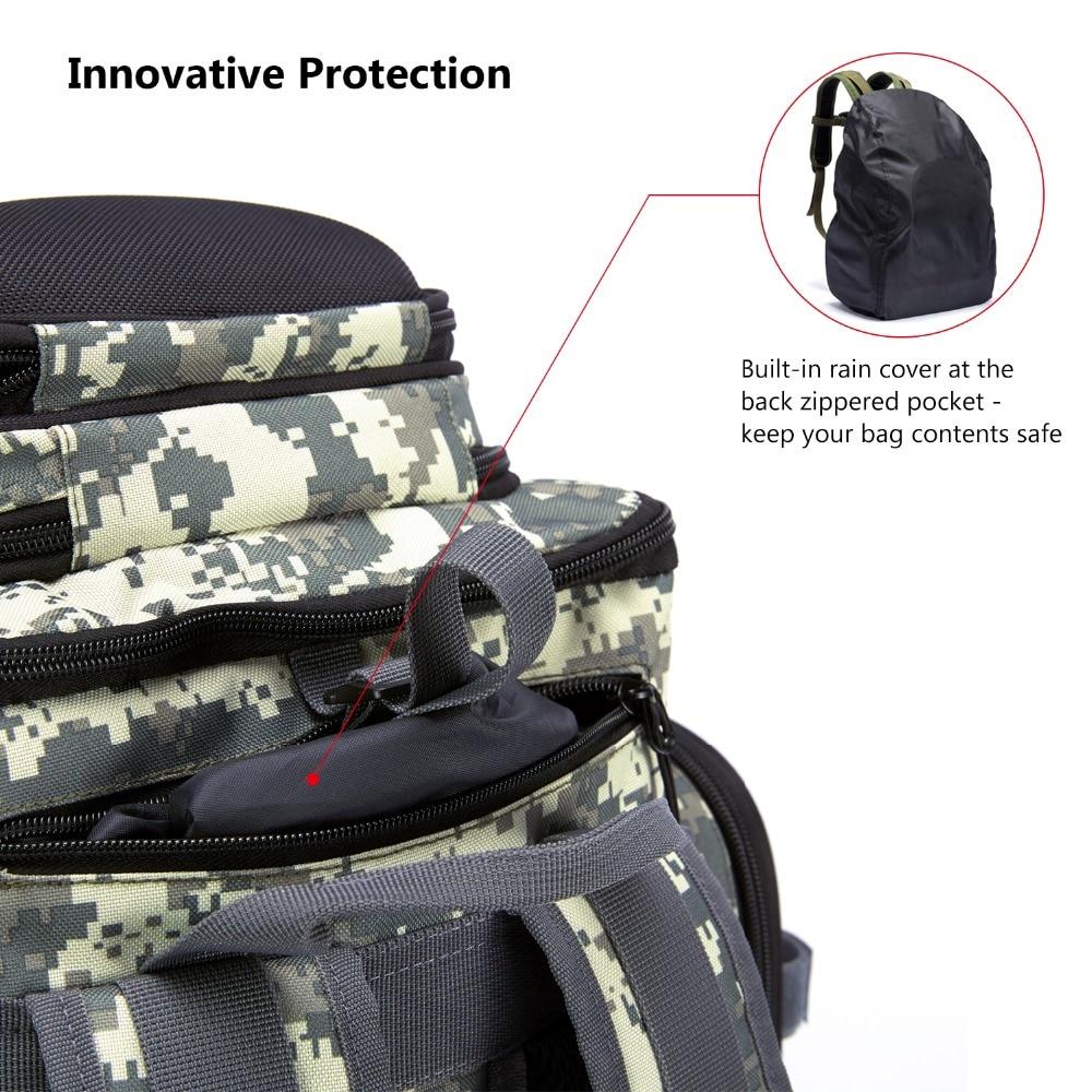 7 Camo tackle backpack