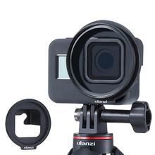 Ulanzi Adaptador de filtro para lente G8 6 de 52MM, anillo para Gopro Hero 8, convertidor para cámara de acción deportiva, accesorios para videocámaras de acción deportiva