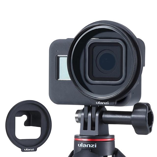 Ulanzi G8 6 52MM עדשת מסנן מתאם טבעת עבור Gopro גיבור 8 ממיר ספורט פעולה מצלמה ספורט פעולה וידאו מצלמות אבזרים