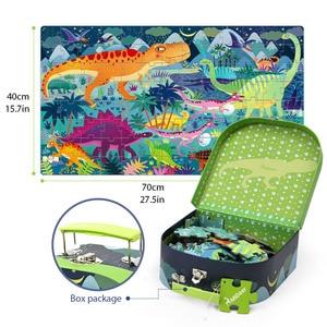 Image 5 - MiDeer 104pcs חידות לילדים פאזל צעצוע תינוק של רוחני פאזל שילוב נייר פאזל לילדים מתנות תיבת 3 6Y