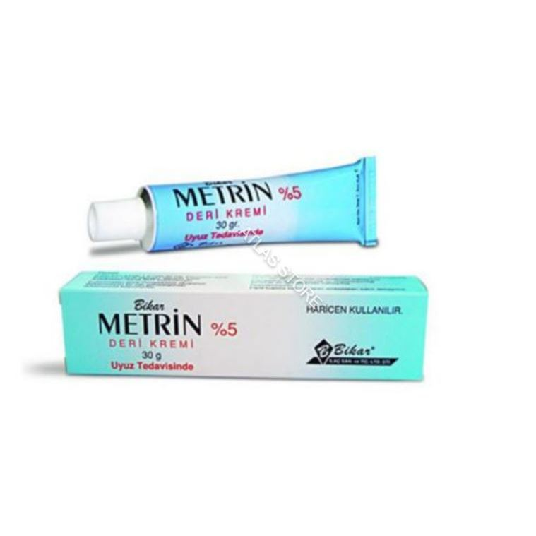 METRIN 5% Permethrin Cream 30g / 1oz Treatment Buy Scabies And Pubic Lice