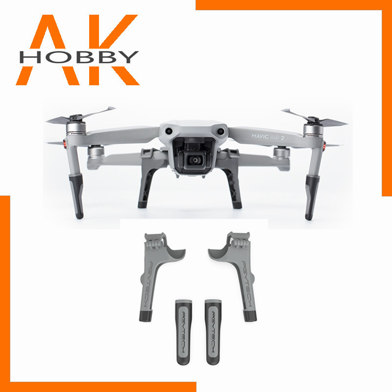 PGYTECH Extended Increased Landing Gear Leg Support Protector Extension Fit for DJI Mavic Air 2 Drone Accessories