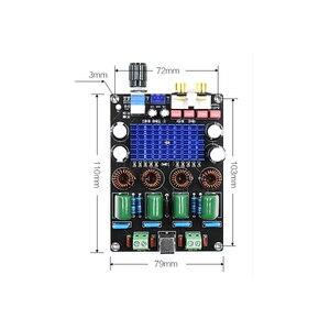 Image 5 - Kyyslb 12 24 v 고전력 100 w * 2 tpa3116d2 디지털 전력 증폭기 보드 XH M590 홈 오디오 증폭기 보드 스테레오 음질