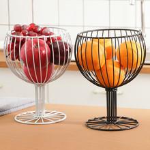 Prostota w stylu nordyckim talerz na owoce dekoracje stolik kawowy do salonu miska na owoce osobowość domu dekoracja owoców kosz SP526 tanie tanio Żywności Metal iron 1289 Ekologiczne