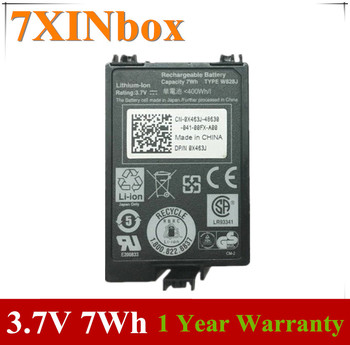 7XINbox 3.7V 7Wh X463J 0X463J H145K J321M Raid Controllers Battery For Dell PowerEdge M600 M610 M910 H700 PERC 6/i image