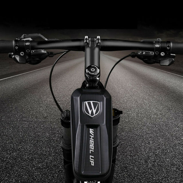 Hirigin Waterproof Bicycle Front Frame Triangle Bag Bike Tube Pouch Holder Saddle Pannier Tool Bag Cycling Storage Stem Pouch