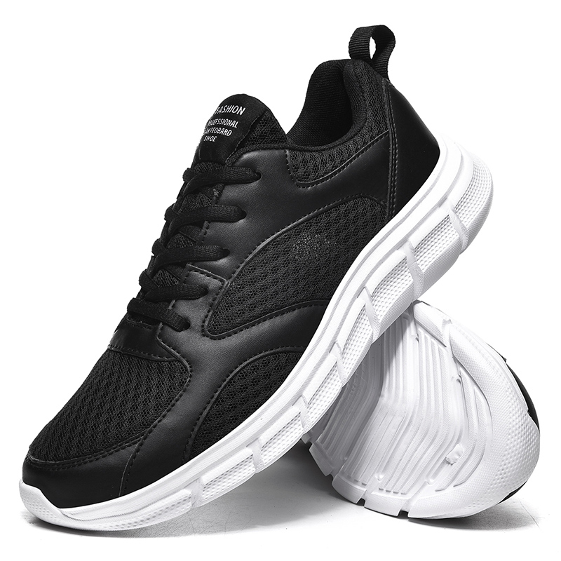 Summer Men's Sports Running Shoes Size 39-48 New Outdoor Breathable Comfortable Non-slip Wear-resistant High Elasticity Sneakers