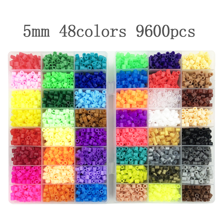 5mm Beads 24/48/36box Packing Hama Beads Education Toys Iron Beads Handmaking Perler Fuse Beads Diy Toy