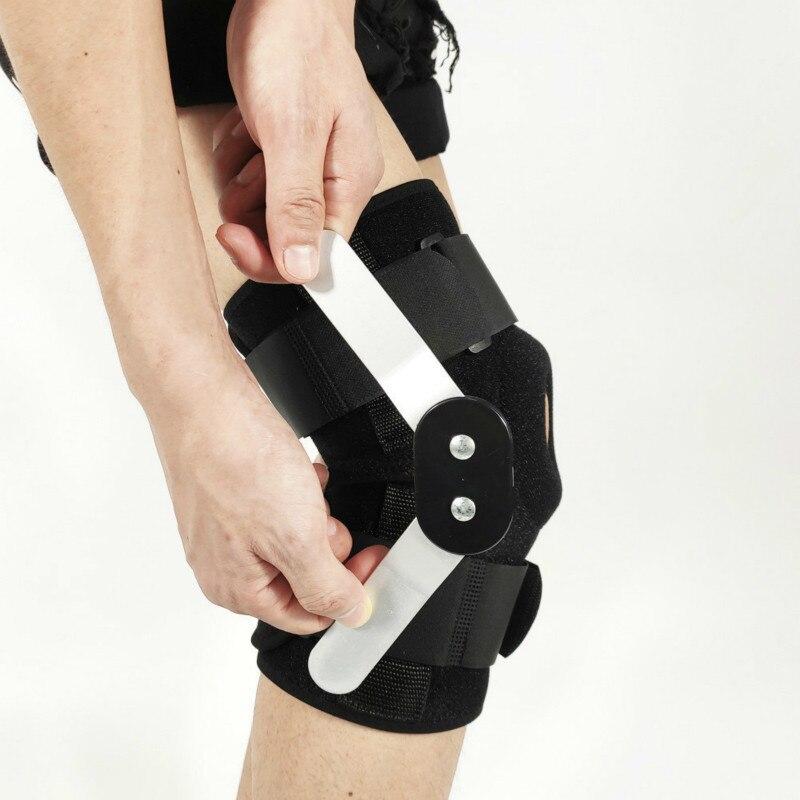 1PC Neoprene Elastic Open Patella Knee Brace Adjustable Basketball Kneepad Knee Protector Support Pad Guard Rodilleras Joelheira