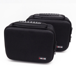 GHKJOK 3.5 inch Large Size Multilayer Digital Gadget Storage Bag Neoprene Travel Organizer Case For HDD, USB Flash Drive camera
