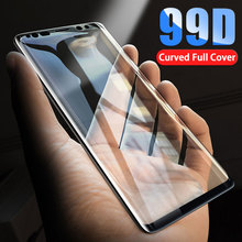 Curved Full Cover Tempered Glass For Samsung Galaxy S9 S8 Plus Note 9 8 Screen Protector Protection For S7 S6 Edge Glass FIlm все цены