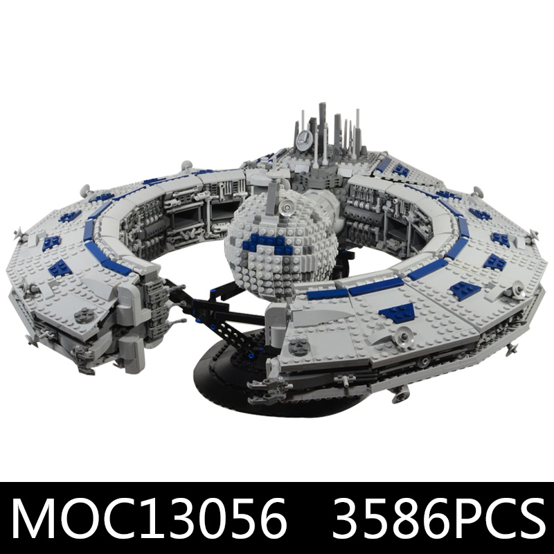 Star Toys Wars Compatible With Legoing MOC-13056 Class Battleship (Droid Control Ship) Building Blocks Kids Christmas Toys Gifts 4