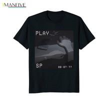 2019 Hot Sale Summer style Aesthetic Anime Japan Retro 90s Vaporwave T Shirt Tee shirt