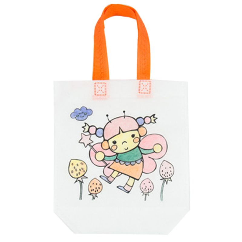 Children DIY Graffiti Environmental Protection Painting Bag Puzzles Educational Toy Boys Girls Gifts R7RB