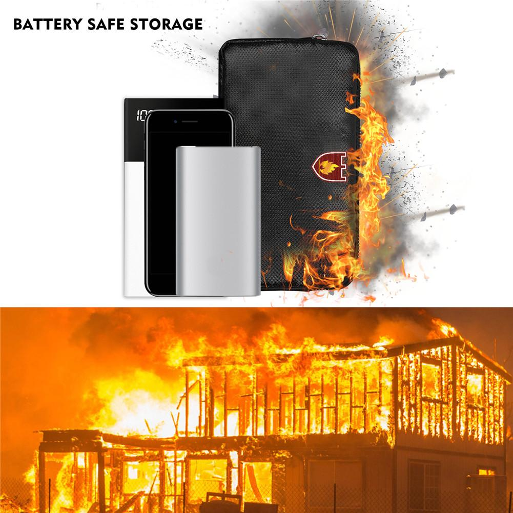 Fireproof Signal Blocking Bag GPS RFID Faraday Bag Shield Cage Pouch Wallet Protective Case For Privacy Protection Car Key