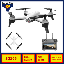 SG106 Professional Camera Drone 4K WIFI HD FPV RC Dron Aircraft Quadcopter Helicopter Selfie Toys Kid Dual Camera