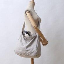 YFZ tuval kadın omuz çantaları, moda basit yüksek kaliteli el çantaları Premium deri kızlar için kolu alışveriş çantası